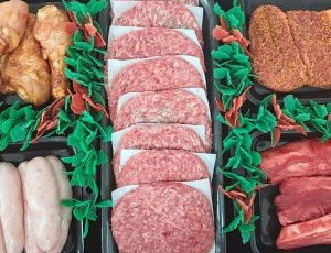 Family Meat packs. Butchers, Sudbury, Haverhill